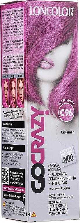 Semipermanente Haarfarbe-Maske - Loncolor GoCRAZY!