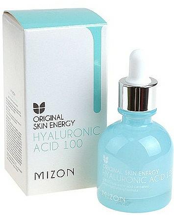 Feuchtigkeitsspendendes und pflegendes Anti-Falten Gesichtsserum mit Hyaluronsäure - Mizon Hyaluronic Acid 100 — Bild N2