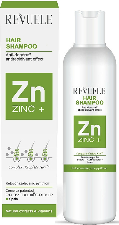 Anti-Schuppen Shampoo - Revuele Zinc+ Hair Shampoo — Bild N1