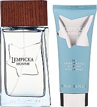 Lolita Lempicka Homme - Duftset (Eau de Toilette 100ml + After Shave Gel 75ml + Kosmetiktasche) — Bild N2