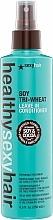 Düfte, Parfümerie und Kosmetik Pflegende und reparierende Soja-Drei-Weizen Sprühkur für alle Haartypen - SexyHair HealthySexyHair Soy Tri-Wheat Leave-In Conditioner