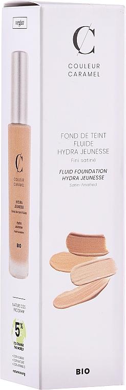 Flüssige Foundation mit Hyaluronsäure - Couleur Caramel Fond De Teint Fluide Hydra Jeunesse