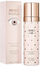 Düfte, Parfümerie und Kosmetik Kenzo World Fresh Mist For Body & Clothes - Parfümiertes Spray für Körper und Bekleidung