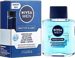 Düfte, Parfümerie und Kosmetik After Shave Feuchtigkeitslotion für empfindliche Haut - Nivea For Men After Shave Lotion