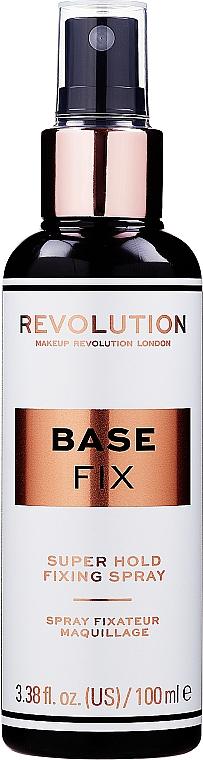 Make-up-Fixierer - Makeup Revolution Base Fix Super Hold Fixing Spray