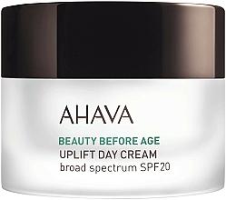 Düfte, Parfümerie und Kosmetik Feuchtigkeitsspendende und glättende Anti-Aging Tagescreme für Gesicht und Dekolleté mit Lifting-Effekt SPF 20 - Ahava Beauty Before Age Uplifting Day Cream SPF20