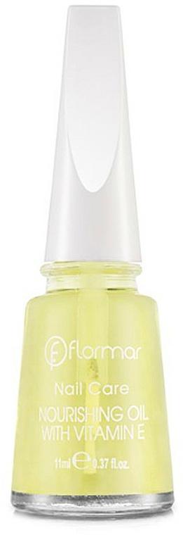 Pflegendes Nagelöl zum Nagelwachstum mit Vitamin E - Flormar Nail Care Nourishing Oil With Vitamin E