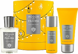 Düfte, Parfümerie und Kosmetik Acqua Di Parma Colonia Pura - Duftset (Eau de Cologne 100ml + Duschgel 75ml + Deospray 50ml)