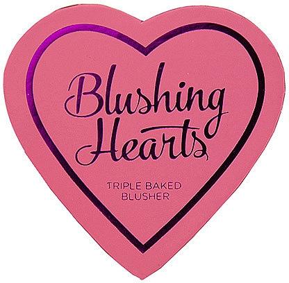 Gebackenes Gesichtsrouge Trio - I Heart Revolution Blushing Hearts Blusher