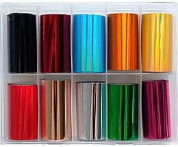 Düfte, Parfümerie und Kosmetik Transferfolien-Set zum Nageldesign MIX 2 - Deni Carte