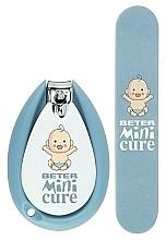 Düfte, Parfümerie und Kosmetik Maniküre-Set - Beter Baby Minicure Duo Kit Blue