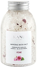 Düfte, Parfümerie und Kosmetik Sól mineralna do kąpieli Róża - Kanu Nature Rose Mineral Bath Salt