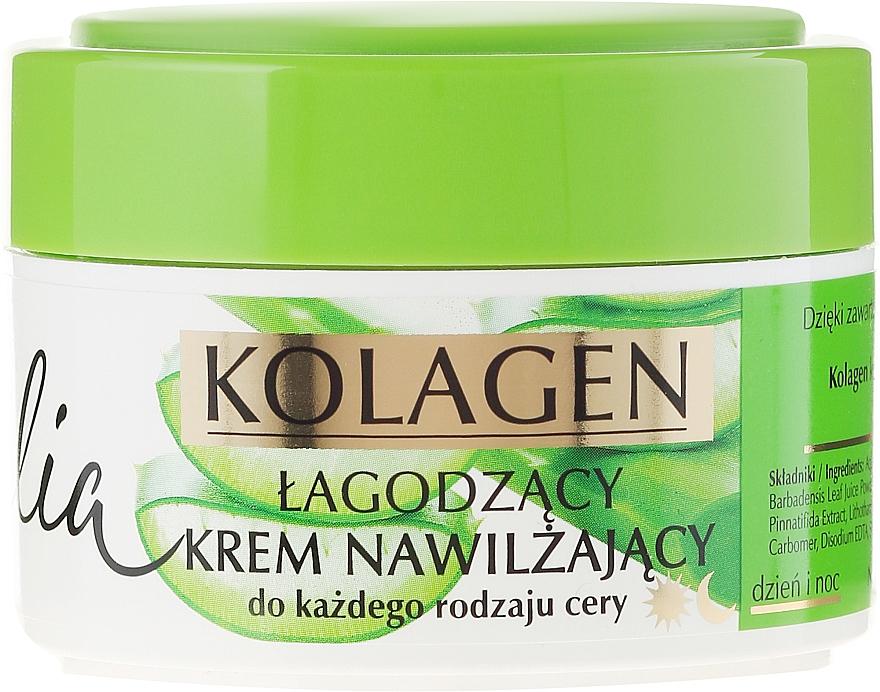 Beruhigende und feuchtigkeitsspendende Gesichtscreme mit Aloe und Kollagen - Celia Face Cream