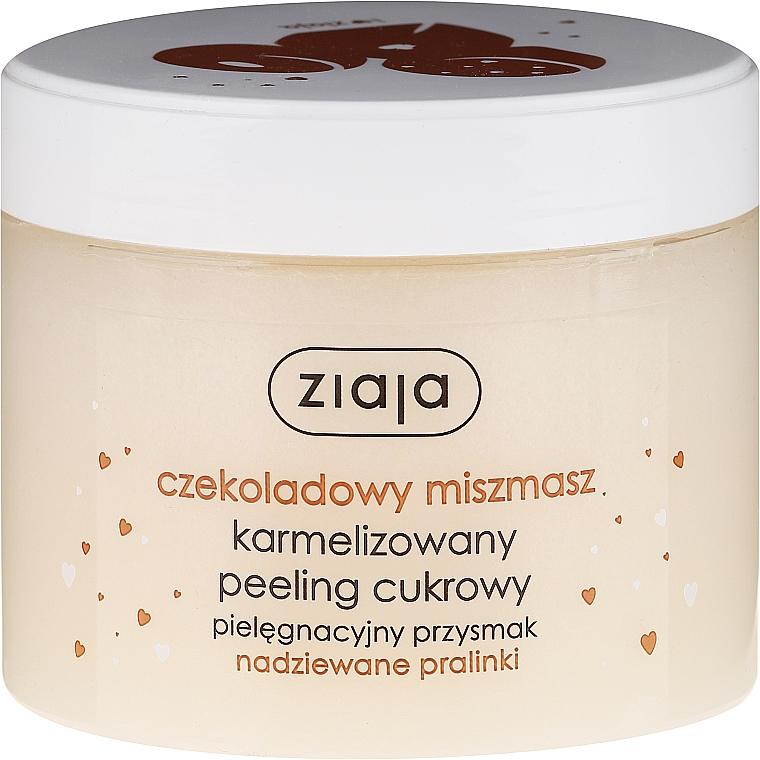 Zuckerpeeling für Körper mit Schokolade - Ziaja Sugar Body Peeling