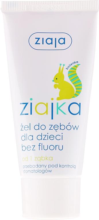 Fluoridfreies Kinderzahngel - Ziaja Toothpaste Gel For Kids