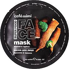 Düfte, Parfümerie und Kosmetik Gesichtsmaske mit Brokkoli und Tapioka - Cafe Mimi Broccoli & Tapioca Face Mask