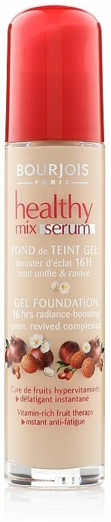 Langanhaltende Foundation mit Vitaminkomplex gegen müde Haut - Bourjois Healthy Mix Serum