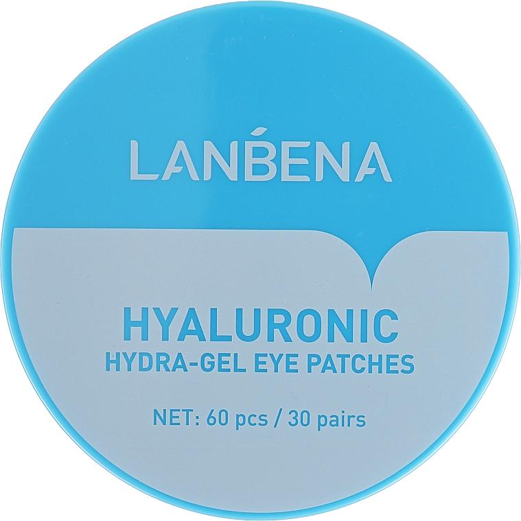 Hydrogel-Augenpatches für die Augen mit Hyaluronsäure - Lanbena Hyaluronic Acid Collagen Gel Moisturizing Eye Patch