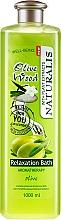 Düfte, Parfümerie und Kosmetik Entspannender Badeschaum mit Olivenextrakt - Naturalis Olive Wood Relaxation Bath