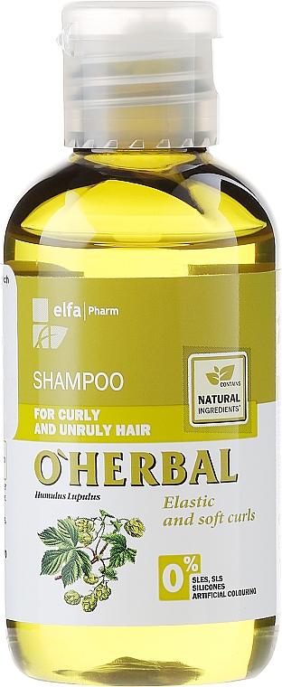 Shampoo für lockiges und widerspenstiges Haar mit Hopfenextrakt - O'Herbal