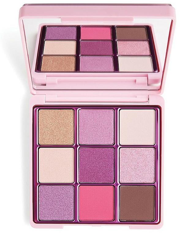 Lidschattenpalette - I Heart Revolution One True Love Glitter Eyeshadow Palette