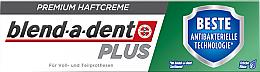 Düfte, Parfümerie und Kosmetik Haftcreme für Voll- und Teilprothesen - Blend-A-Dent Premium Adhesive Cream Plus Dual Protection Fresh