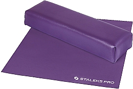 Düfte, Parfümerie und Kosmetik Maniküre-Handauflage mit Tuch Mini violett - Staleks Pro Expert 10 Type 3