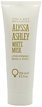 Düfte, Parfümerie und Kosmetik Alyssa Ashley White Musk - Feuchtigkeitsspendende Hand- und Körperlotion