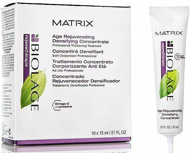 Tiefgreifende 15-minutige Haarbehandlung und Massage mit Ceramiden - Biolage Rejuvatherapie Age Rejuvenating Concentrate