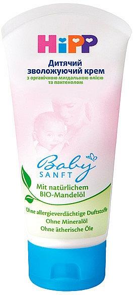 Feuchtigkeitsspendende Kindercreme mit Bio-Ringelblume - HiPP Babysanft Cream