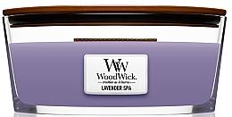 Düfte, Parfümerie und Kosmetik Duftkerze im Glas Lavender Spa - Woodwick Candle Lavender Spa