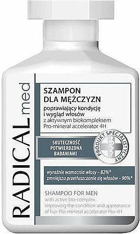 Shampoo für Männer, Tiefenreinigung und Erfrischung - Radical Med Shampoo for Men With Active BioComplex