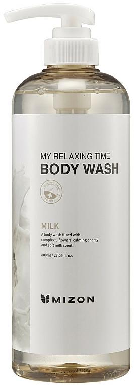 Milch-Duschgel - Mizon My Relaxing Time Body Wash — Bild N1