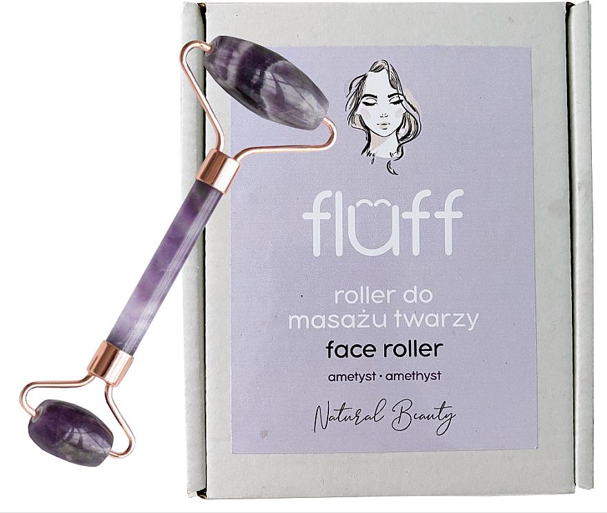 Massageroller für das Gesicht aus Amethyst - Fluff Face Roller Ametyst