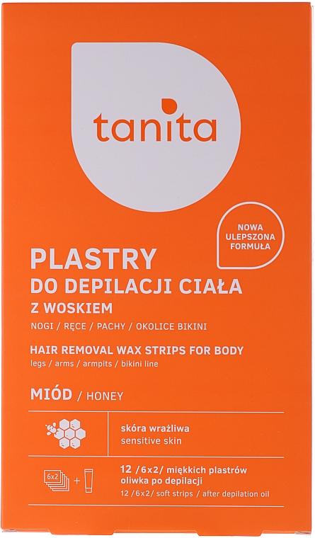 Enthaarungswachsstreifen mit Honig - Tanita — Bild N1