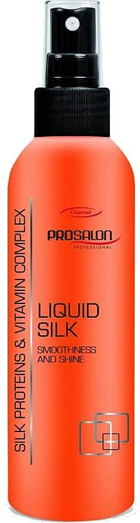 Regenerierender Haarspray mit Seidenproteinen und Vitaminkomplex - Prosalon Hair Care Liquid Silk