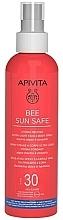 Düfte, Parfümerie und Kosmetik Feuchtigkeitsspendendes Sonnenschutzspray für Gesicht und Körper SPR 30 - Apivita Bee Sun Safe Hydra Melting Ultra Light Face & Body Spray SPF30