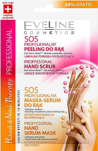 Handpeeling-Maske - Eveline Cosmetics Therapy