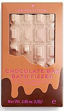 "Düfte, Parfümerie und Kosmetik Badebombe Schokolade - I Heart Revolution Chocolate Bar Bath Fizzer ""Chocolate"""