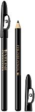 Düfte, Parfümerie und Kosmetik Kajalstift mit Anspitzer - Eveline Cosmetics Eyeliner Pencil