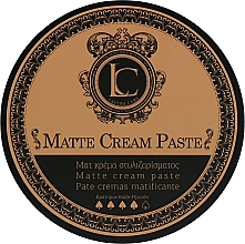 Düfte, Parfümerie und Kosmetik Cremige Haarpaste für mattes Finish - Lavish Care Matte Cream Paste