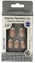Düfte, Parfümerie und Kosmetik Künstliche Fingernägel French 77951 - Top Choice Fashion Design