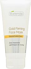 Düfte, Parfümerie und Kosmetik Hautstraffende Gesichtsmaske mit kolloidalem Gold und Kaviar - Bielenda Professional Program Face Gold Firming Face Mask