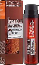 Düfte, Parfümerie und Kosmetik Feuchtigkeitsgel für 3-Tagebart & Gesichtspflege - L'Oreal Paris Men Expert Barber Club Moisturiser