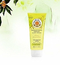 Erfrischendes Duschgel mit Osmanthusblüte - Roger and Gallet Fleur d'Osmanthus Fresh Shower Gel — Bild N3