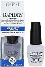 Düfte, Parfümerie und Kosmetik Schnelltrocknender Überlack - O.P.I RapiDry Top Coat