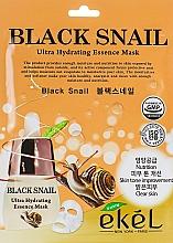 Düfte, Parfümerie und Kosmetik Tuchmaske für das Gesicht mit schwarzem Schneckenmucin - Ekel Black Snail Ultra Hydrating Essence Mask