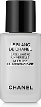 Düfte, Parfümerie und Kosmetik Make-up Base - Chanel Le Blanc de Chanel Multi-Use Illuminating Base