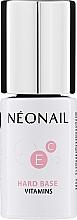 Düfte, Parfümerie und Kosmetik Nagelbase mit Vitaminen - NeoNail Professional Hard Base Vitamins
