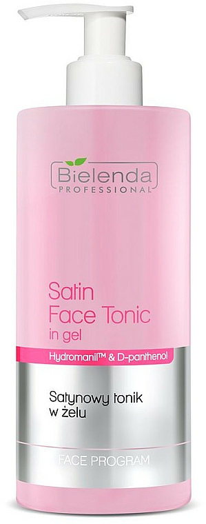 Gesichtsgel- Tonikum mit Goji Beeren aus Tibet - Bielenda Professional Program Face Skin Satin Tonik